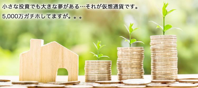 投資するなら仮想通貨